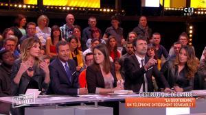 Caroline Ithurbide et Magali Berdah dans c'est Que de la Télé - 21/02/18 - 20