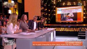 Caroline Ithurbide et Stéphanie Loire dans c'est Que de la Télé - 25/01/18 - 01