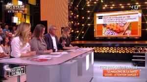 Caroline Ithurbide et Stéphanie Loire dans c'est Que de la Télé - 25/01/18 - 02