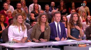 Caroline Ithurbide, Stéphanie Loire et FrancesÇa Antoniotti dans c'est Que de la Télé - 11/01/18 - 01