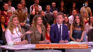 Caroline Ithurbide, Stéphanie Loire et FrancesÇa Antoniotti dans c'est Que de la Télé - 11/01/18 - 04