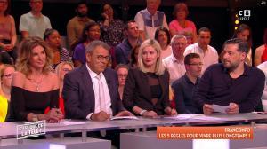 Caroline Ithurbide et Tatiana Laurens Delarue dans c'est Que de la Télé - 04/05/18 - 02