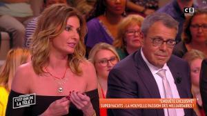 Caroline Ithurbide et Tatiana Laurens Delarue dans c'est Que de la Télé - 04/05/18 - 09
