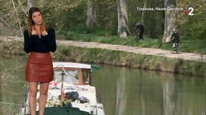 Chloé Nabedian à la Météo de Midi - 16/04/18 - 01