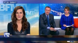 Daniela Prepeliuc à la Météo de BFM TV - 27/02/17 - 04