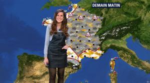 Daniela Prepeliuc à la Météo de BFM TV - 30/11/17 - 02