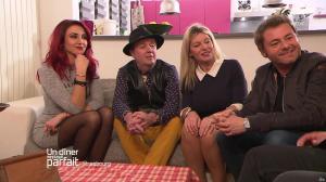 Delphine Wespiser dans un Diner Presque Parfait - 10/04/17 - 12