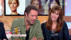 Doria Tillier dans C à Vous - 01/03/18 - 03