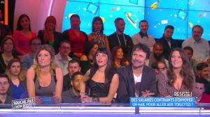 Erika Moulet et Caroline Ithurbide dans Touche pas à mon Poste - 25/03/16 - 03