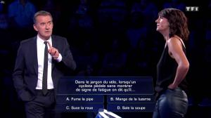 Estelle Denis dans The Wall - 30/12/17 - 11