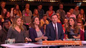 FrancesÇa Antoniotti dans c'est Que de la Télé - 04/12/17 - 02