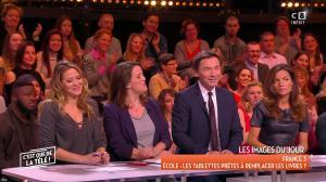 FrancesÇa Antoniotti dans c'est Que de la Télé - 04/12/17 - 03