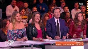 Francesca Antoniotti dans c'est Que de la Télé - 09/01/18 - 02