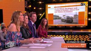 Francesca Antoniotti dans c'est Que de la Télé - 09/01/18 - 03