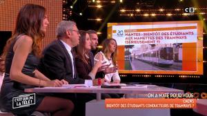FrancesÇa Antoniotti dans c'est Que de la Télé - 09/03/18 - 10