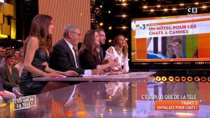 FrancesÇa Antoniotti dans c'est Que de la Télé - 09/03/18 - 13