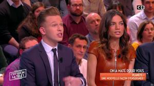 FrancesÇa Antoniotti dans c'est Que de la Télé - 26/02/18 - 10