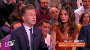 FrancesÇa Antoniotti dans c'est Que de la Télé - 26/02/18 - 11