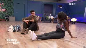 Hapsatou Sy dans Danse avec les Stars - 18/10/17 - 01