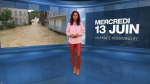 Laurence Roustandjee à la Météo du Soir - 13/06/18 - 01