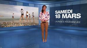Laurence Roustandjee à la Météo du Soir - 18/03/17 - 01