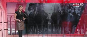 Marine Costabadie dans un Jour aux Courses - 05/11/17 - 01