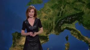 Sandra Larue à la Météo de BFM TV - 08/04/17 - 03