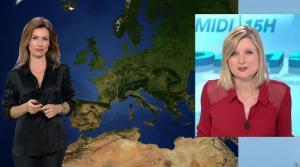 Sandra Larue à la Météo de BFM TV - 16/01/17 - 01
