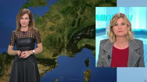 Sandra Larue à la Météo de BFM TV - 22/02/17 - 01
