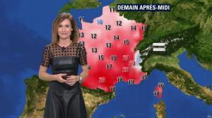 Sandra Larue à la Météo de BFM TV - 22/02/17 - 02