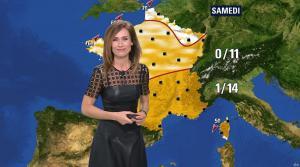 Sandra Larue à la Météo de BFM TV - 22/02/17 - 03