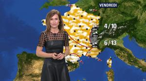Sandra Larue à la Météo de BFM TV - 22/02/17 - 05
