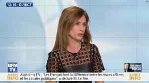 Sandra Larue à la Météo de BFM TV - 22/02/17 - 06