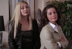 Shannen Doherty dans Charmed - 25/08/17 - 07