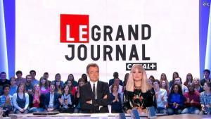 Solweig Rediger-Lizlow dans le Grand Journal de Canal Plus - 20/04/12 - 02