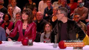 Sylvie Noachovitch dans c'est Que de la Télé - 20/12/17 - 01