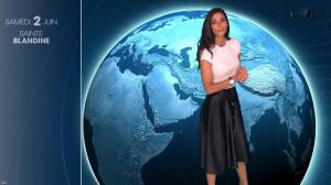 Tatiana Silva à la Météo du Soir - 01/06/18 - 02