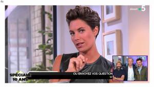 Alessandra Sublet dans C à Vous - 21/06/19 - 07