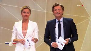 Anne-Sophie Lapix lors de la Soirée des Elections Europeennes - 26/05/19 - 01