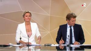 Anne-Sophie Lapix lors de la Soirée des Elections Europeennes - 26/05/19 - 02