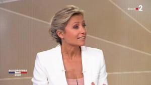 Anne-Sophie Lapix lors de la Soirée des Elections Europeennes - 26/05/19 - 04
