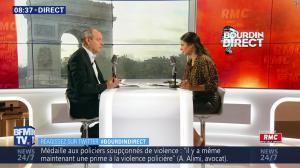 Apolline De Malherbe dans Bourdin Direct - 19/07/19 - 01