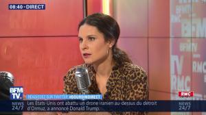 Apolline De Malherbe dans Bourdin Direct - 19/07/19 - 03