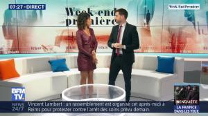 Aurélie Casse dans Week-End Première - 19/05/19 - 09