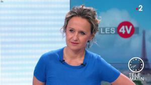 Caroline Roux dans les 4 Vérités - 12/06/19 - 07