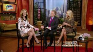 Céline Dion dans Live With Regis And Kelly - 22/09/11 - 01