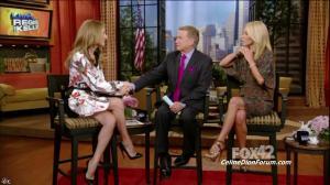 Céline Dion dans Live With Regis And Kelly - 22/09/11 - 02