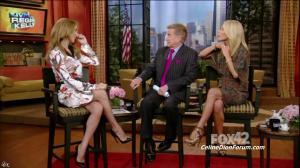 Céline Dion dans Live With Regis And Kelly - 22/09/11 - 03
