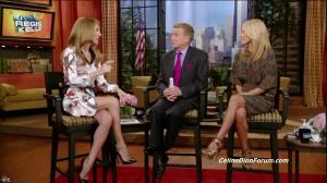 Céline Dion dans Live With Regis And Kelly - 22/09/11 - 04
