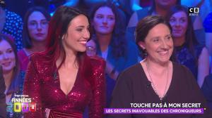 Delphine Wespiser dans Touche pas à mon Poste Special - 01/03/19 - 02